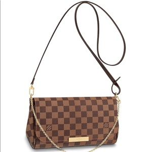 FAVORITE MM Louis Vuitton Damier Ebene crossbody